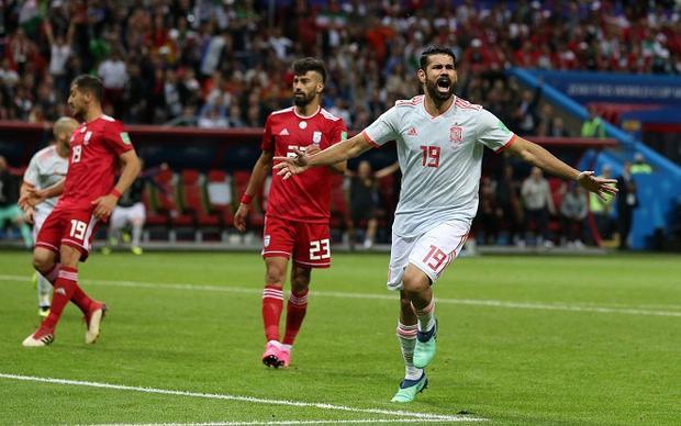 Diego Costa ghi bàn thắng duy nhất trận đấu. Ảnh: Fifa.com.