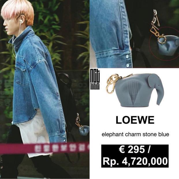 Móc khóa hình con voi hãng Loewe hơn 7 triệu VNĐ.