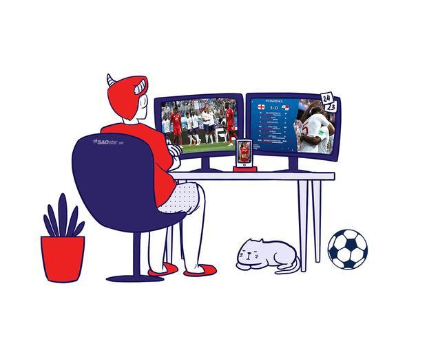 Cách 12 chòm sao thưởng thức bóng đá trong mùa World Cup có gì đặc biệt