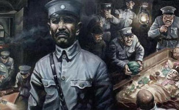 """Tại Trung Quốc, trộm mộ từng trở thành một """"vấn nạn"""" trong suốt nhiều thời đại. (Tranh minh họa)."""