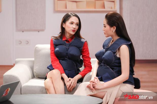 Hương Giang thông báo với Kỳ Duyên cô đang mang thai con đầu lòng của Hứa Vĩ Văn.