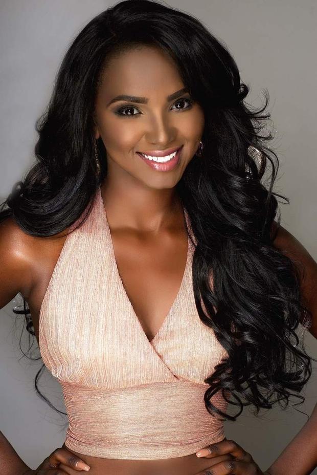Eyga Mojus (Nam Sudan) - top 10 Miss Grand International - Hoa hậu hòa bình quốc tế 2017. Cuộc đua danh hiệuMiss Grand Slam 2017 sẽ tiếp tục hành trình để tìm ra nhan sắc đẹp nhất trở thành Hoa hậu của các Hoa hậu 2017.