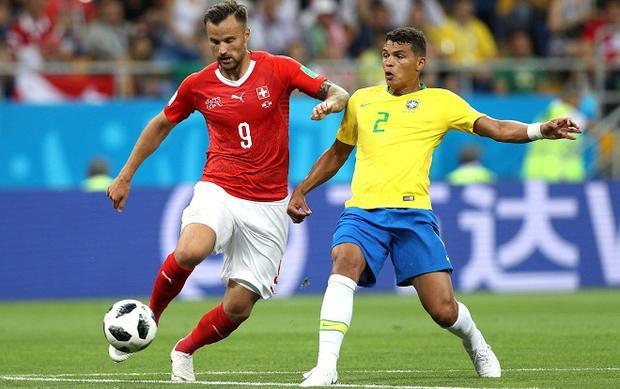 Brazil sẽ phải chịu sức ép cực lớn trong trận đấu với Costa Rica. Ảnh: Fifa.com.