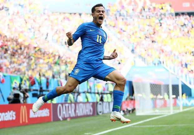 Philippe Coutinho tiếp tục lập công cho Brazil. Ảnh: FIFA
