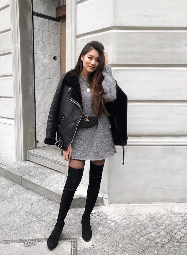 Trình mix&match trang phục thiên biến vạn hóa của cô gái sinh năm 1994 đáng để học hỏi.