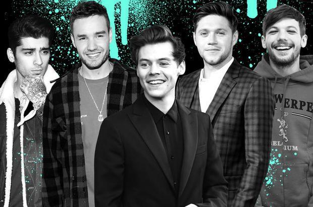 Nhóm nhạc One Direction từng là nhóm nhạc thành công nhất thế giới một thời.