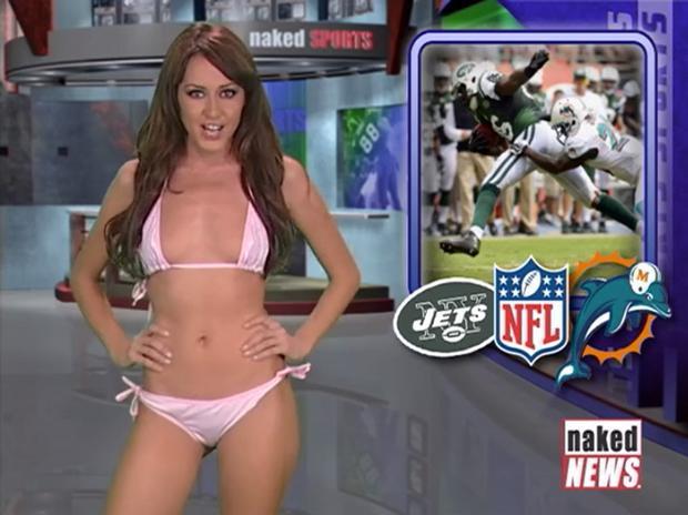 Rachel Simmons (Canada) - MC chương trình thể thao của kênh Nakes News tại Canada.
