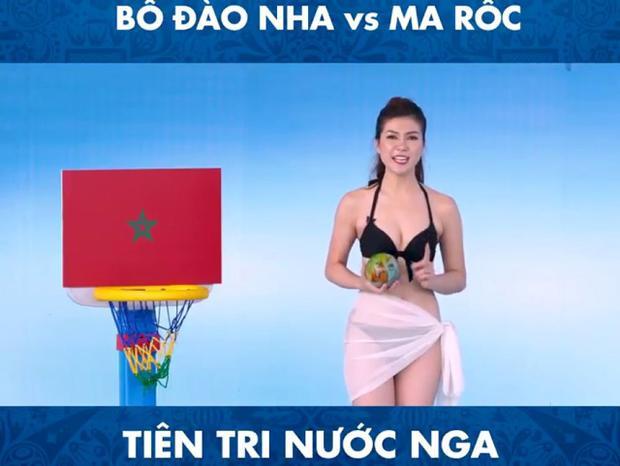 Nguyễn Thu Hằng (Việt Nam) - MC chương trình Tiên tri nước Nga do K+ sản xuất.