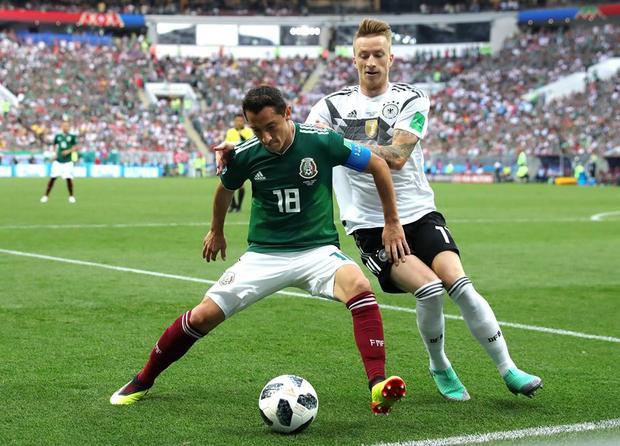 Tuyển Đức cần quên thất bại trước Mexico. Ảnh: FIFA