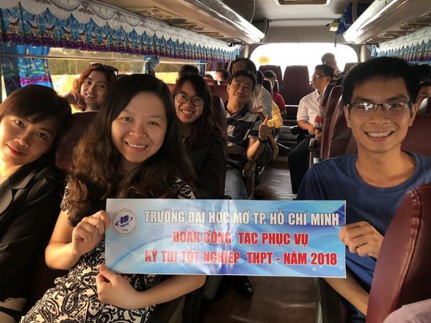 Giảng viên trường ĐH Mở TPHCM bắt đầu chuyến công tác quan trọng tại tỉnh Bình Thuận