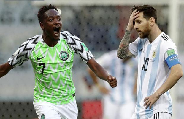 Ahmed Musa tuyên bố sẽ lập cú đúp vào lưới Argentina.