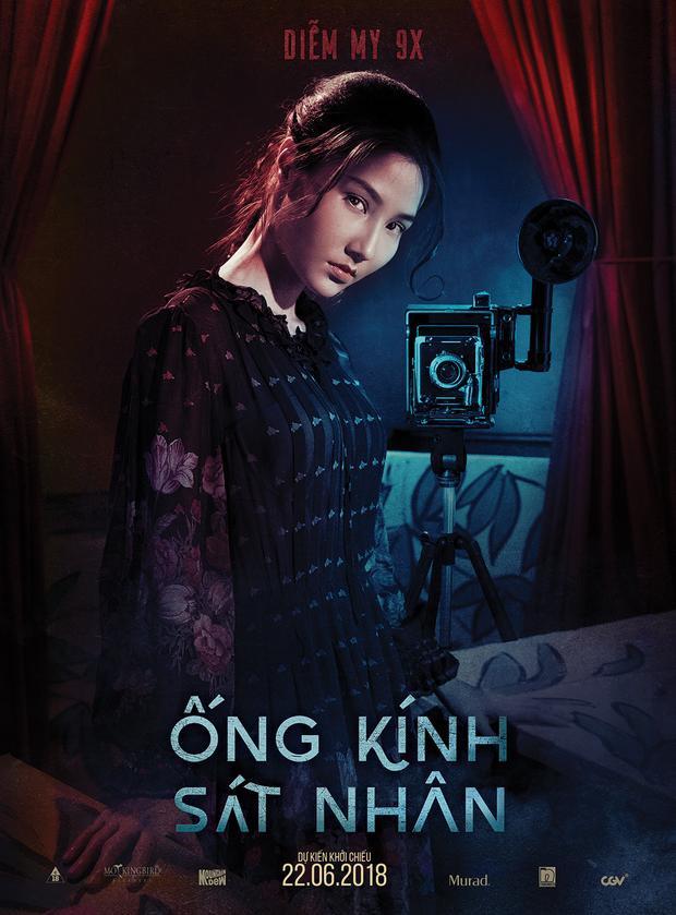 Diễm My 9x thủ vai nữ chính Cẩm Phô trong phim.