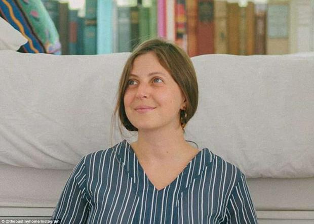Jessie Lipskin, người phụ nữ thú vị trong câu chuyện biến xe buýt thành nhà ở này.
