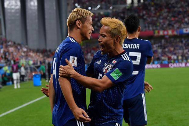 Nếu cầm hòa Ba Lan ở lượt đấu cuối, Nhật Bản chắc chắn sẽ có vé đi tiếp. Ảnh: Getty.