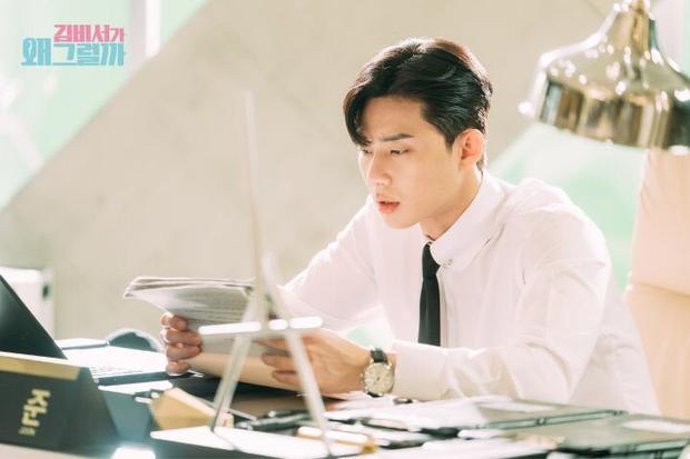 6 lý do Park Seo Joon hoàn toàn phù hợp với nhân vật Phó chủ tịch Lee trong 'Thư ký Kim'