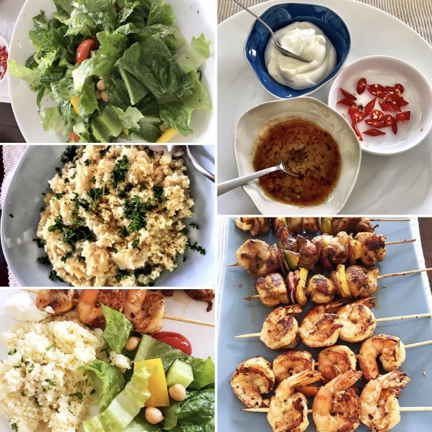 Bữa tối Hà Tăng chuẩn bị cho Louis Nguyễn.