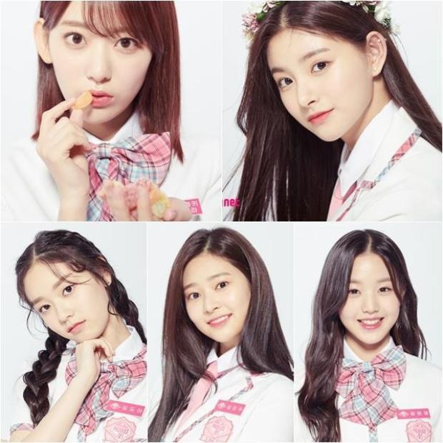 Top 5 gương mặt visible tại Produce48.