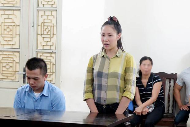 Phan Thị Mạnh Khương tại tòa. Ảnh: Dân Việt.