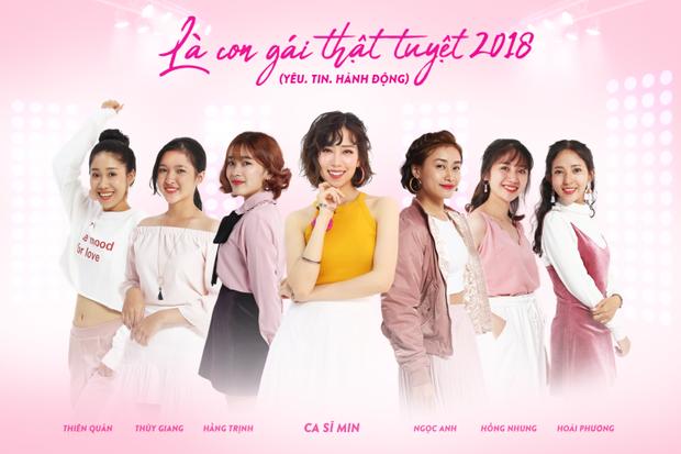 Truy tìm danh tính 6 cô gái tài năng tỏa sáng cùng MIN trong MV đẹp như mơ