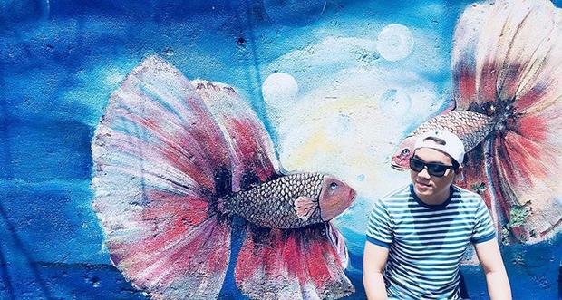 Đây còn được xem là một trong những địa điểm check-in được giới trẻ vô cùng yêu thích khi đặt chân tới Đà Nẵng. @mr_happy92