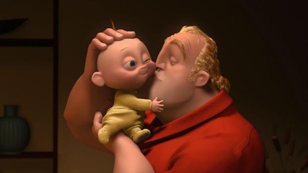 Jack-Jack vẫn sẽ là đứa con trai siêu quậy và là cả thế giới của bố Bob.