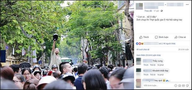 Sau khi được đăng tải, bức ảnh nhận được sự quan tâm của cộng đồng mạng. (Ảnh chụp màn hình)