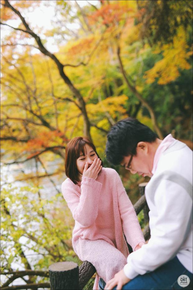 Chỉ ước một lần được chụp ảnh cưới ở Nhật, bởi vào mùa thu, nước Nhật đẹp đến thế này cơ mà!