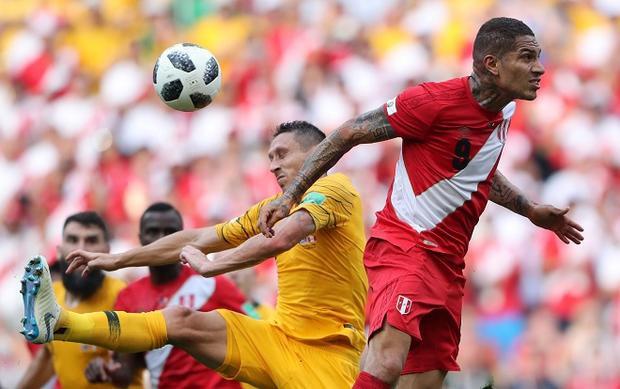 ĐT Úc tỏ ra bất lực trong những tình huống tấn công. Ảnh: Fifa.com.
