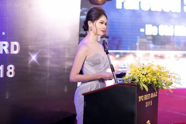 Á hậu Việt Nam 2016 đặt mục tiêu phát triển ở lĩnh vực dẫn chương trình trong thời gian tới.