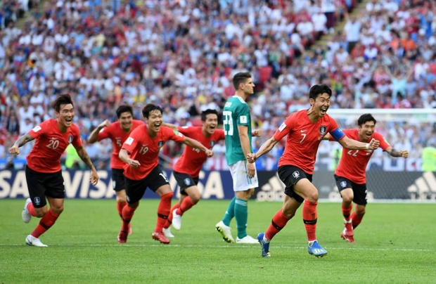 Hàn Quốc có chiến thắng lịch sử trước ĐT Đức.Ảnh: FIFA