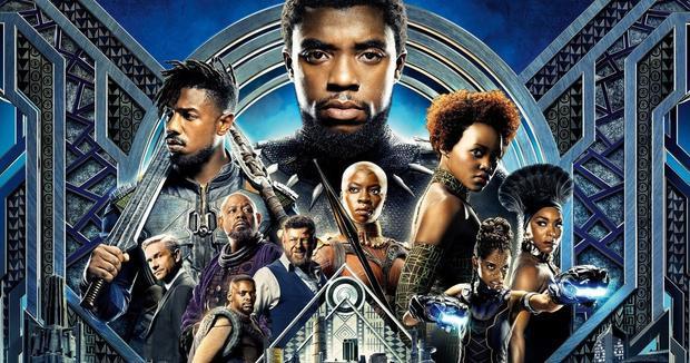 Black Panther đứng đầu với 700 triệu USD.