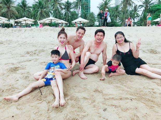 """Cả nhà Đăng Khôi đang có chuyến du lịch Đà Lạt - Nha Trang cùng nhau, Thủy Anh hạnh phúc chia sẻ: """"Gia đình là tất cả, là duy nhất""""."""