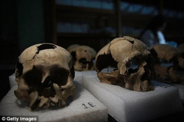 Trong số những hộp sọ được phát hiện có 3/4 thuộc về đàn ông có độ tuổi từ 20-35. Khoảng 20% là phụ nữ và 5% còn lại là trẻ em. Các nhà nghiên cứu cho biết, tình trạng sức khỏe của nạn nhân khá tốt trước khi bị sát hại.