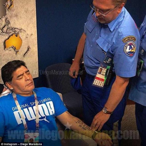 Cực cầu thủ ngất xỉu sau khi đội tuyển Argentina giành chiến thắng. Ảnh: Instagram