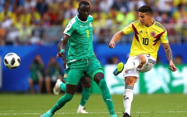 Colombia đã góp phần tạo ra một kịch bản điên rồ nhất trong lịch sử các VCK World Cup. Ảnh: Fifa.com.
