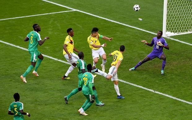 Colombia đã trao tấm vé đi tiếp cho Nhật Bản theo cái cách không ai ngờ tới. Ảnh: Fifa.com.
