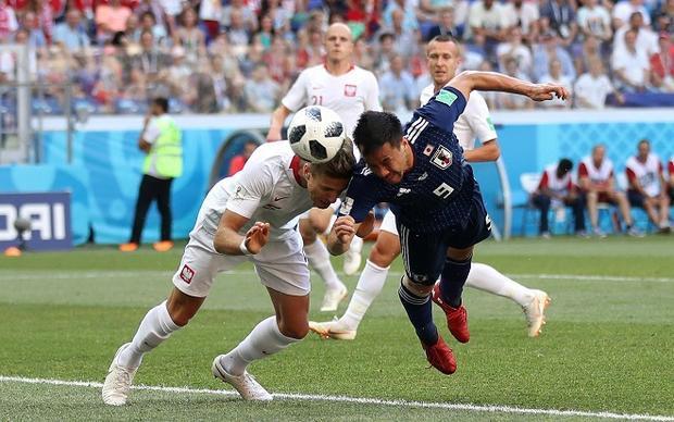 Nhật Bản trở thành đội may mắn nhất tại VCK World Cup 2018. Ảnh: Fifa.com.