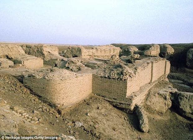 Nghĩa trang Hoàng gia Ur - nơi hàng trăm người đã hi sinh. Ảnh: DailyMail