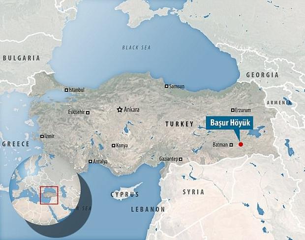 Başur Höyük được nhận định rằng chính làMesopotamia - cái nôi của nền văn minh nhân loại. Ảnh: DailyMail