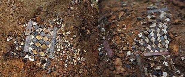 Chúng được chôn cất cùng với những đồ vật quý giá. Ảnh: DailyMail