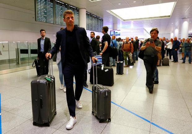 Thomas Muller cũng gây thất vọng lớn khi bỏ lỡ quá nhiều cơ hội ghi bàn tại World Cup 2018.