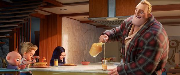 Chưa ra mắt nhưng Chàng vợ của em đã có điểm chung thú vị với The Incredibles 2