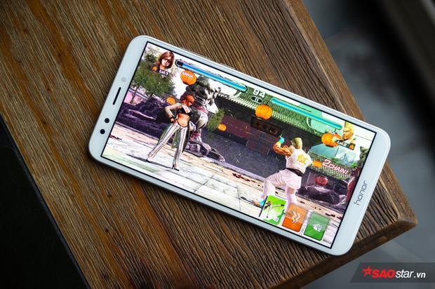 Cấu hình của Honor 7C phù hợp nhất với các tác phụ nhẹ nhàng như lướt web, facebook hay các tựa diversion nhẹ