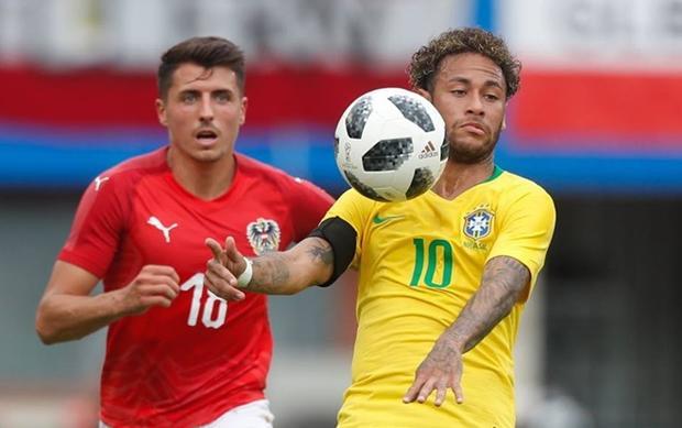Neymar là niềm hy vọng của Brazil. Ảnh: FIFA
