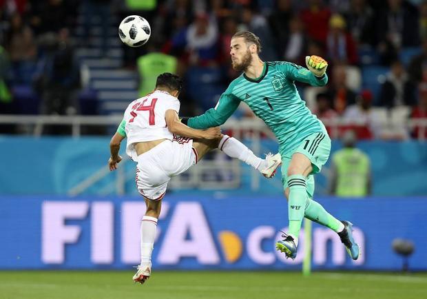 De Gea đang trở thành nỗi lo cho Tây Ban Nha. Ảnh: FIFA