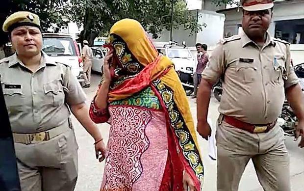 Vợ của nạn nhân, Zahida Begum, 52 tuổi.