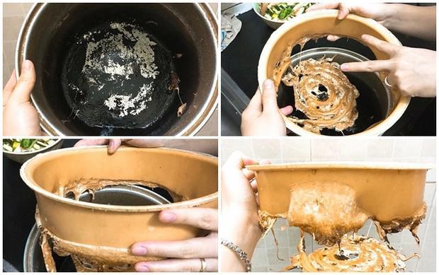 Món caramen in nguyên hình chiếc nồi