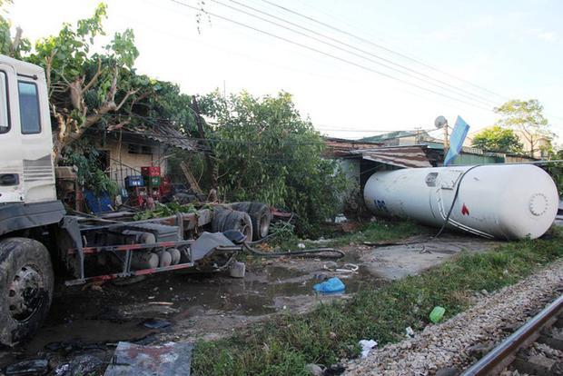 Hiện trường vụ tai nạn (Nguồn: Dân trí)