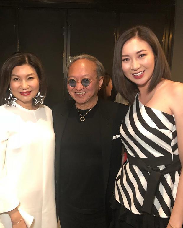 Dàn sao TVB đến chúc mừng sinh nhật bà trùm Lạc Di Linh