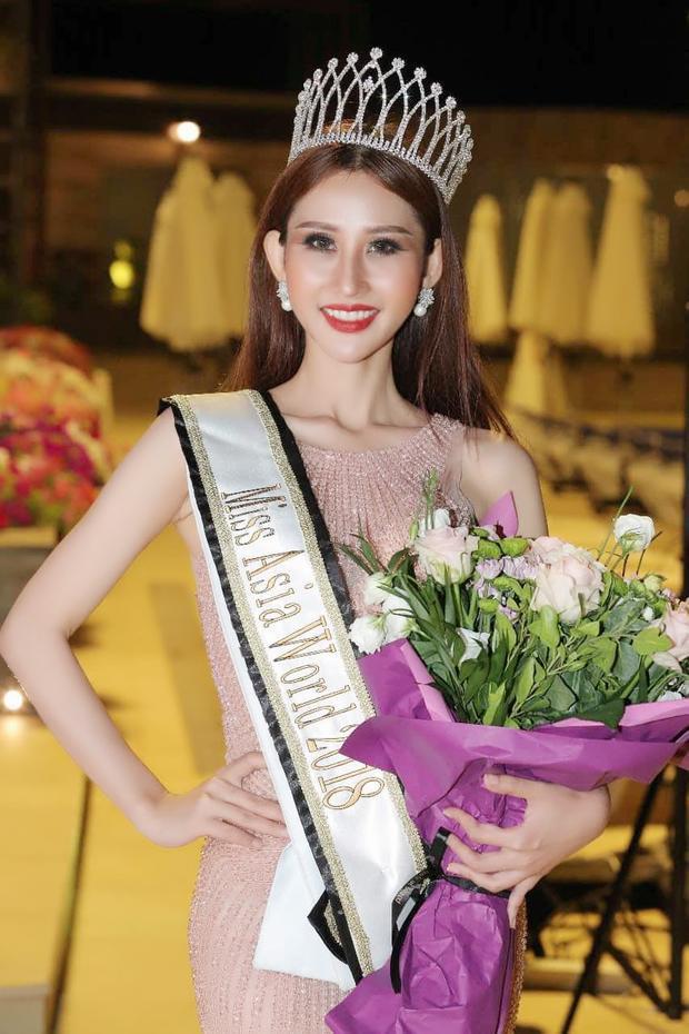 Chi Nguyễn trở thành Miss Asia World 2018.